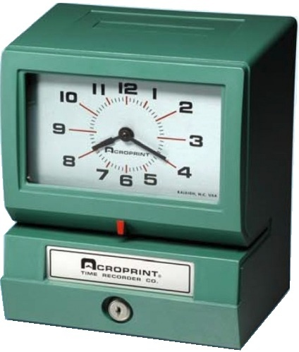 Acroprint 150 Time Clock-----Substitute for STROMBERG 150