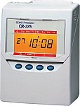 Seiko QR 375-- USED-- The high featured QR-375 calculating time recorder was developed for your easy payroll operation.