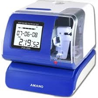 Amano Cincinnati PIX-200 Time Clock (RECONDITIONED)